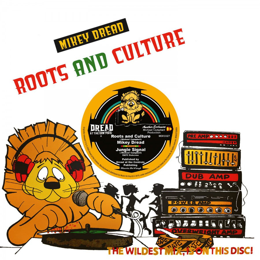 "Mikey Dread: Roots & Culture (Colored Vinyl) Vinyl 10"" (Record Store Day)"