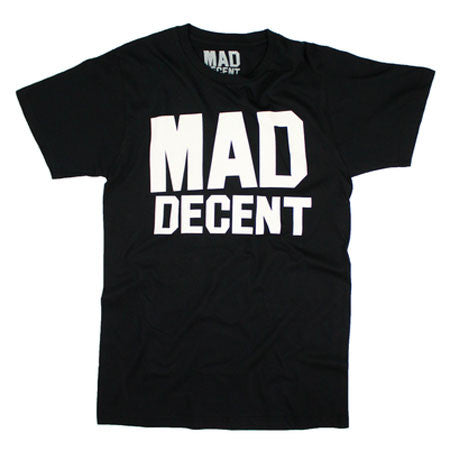 Mad Decent: Logo Shirt - Black