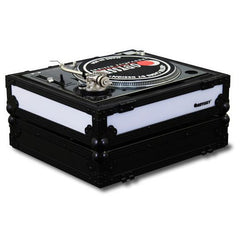 Odyssey: Flight FX2 Series Battle Position Turntable Flight Case w/ Front & Left Side LED Panels (FFX2LBM1200BL)