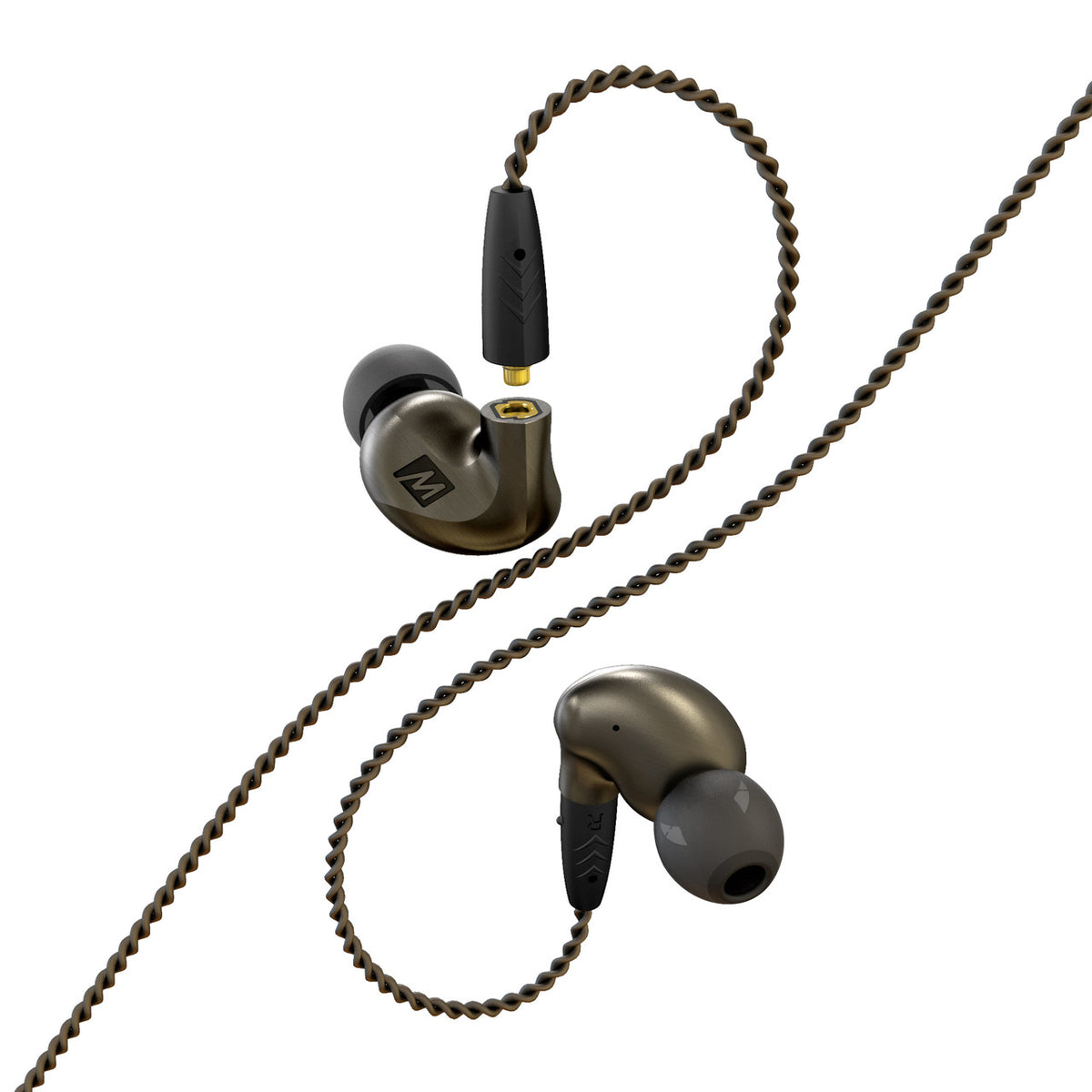 MEE audio: Pinnacle P1 High Fidelity Audiophile In-Ear Headphones - Zinc
