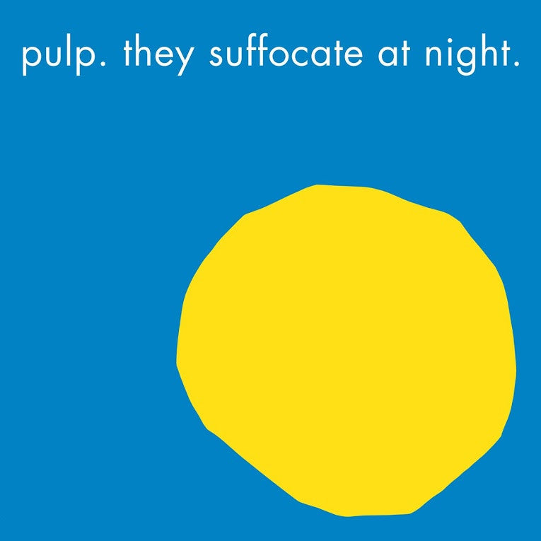 "Pulp: They Suffocate At Night Vinyl 12"" (Record Store Day)"