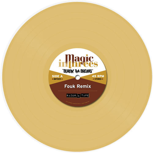 "Magic In Threes: Beatin' Tha Brakes Vinyl 10"" (Record Store Day)"