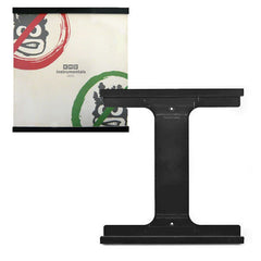 Records On Walls: Vinyl Record Frame - Black