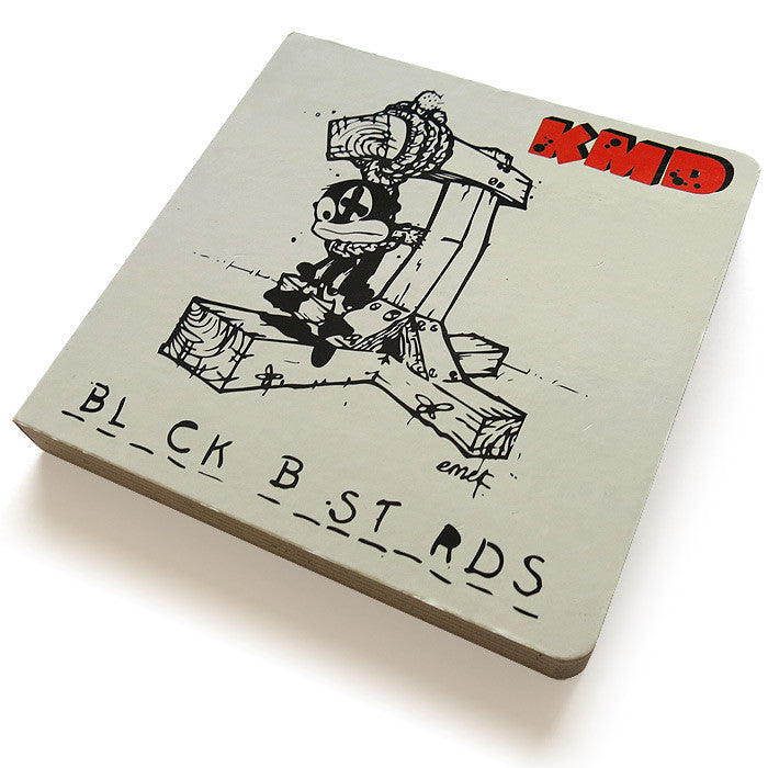 "KMD / MF Doom: Black Bastards Deluxe Pop Up Book+Vinyl 7""+2CD (Record Store Day)"