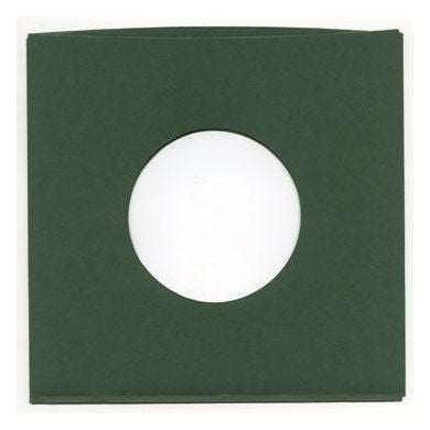 "Record Supply Co: 7"" Old-Style Green Sleeves (10 Units)"