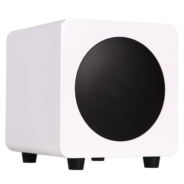 Kanto: SUB6 Powered Subwoofer - Gloss White (SUB6GW)