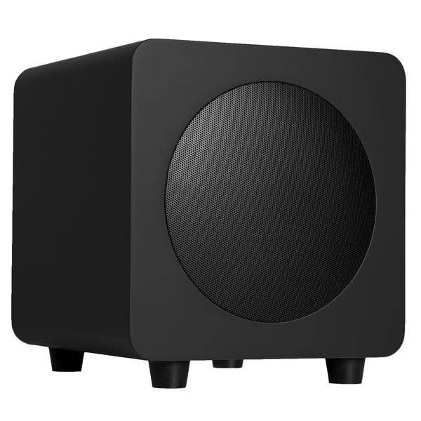 Kanto: SUB6 Powered Subwoofer - Matte Black (SUB6MB)