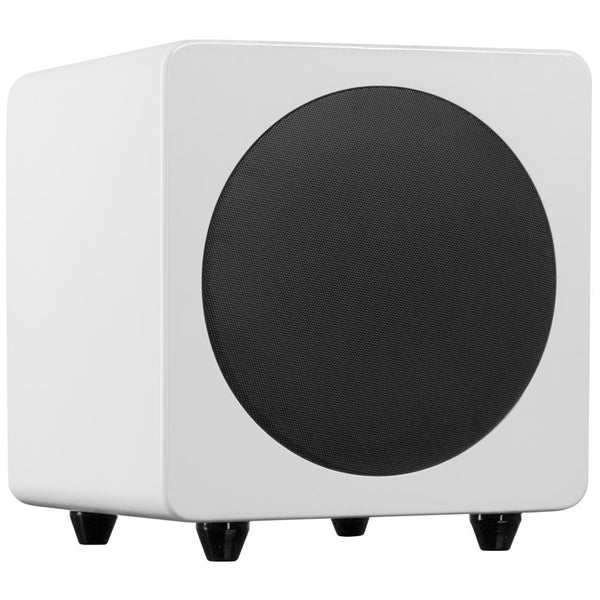 Kanto: SUB8 Powered Subwoofer - Gloss White (SUB8GW)