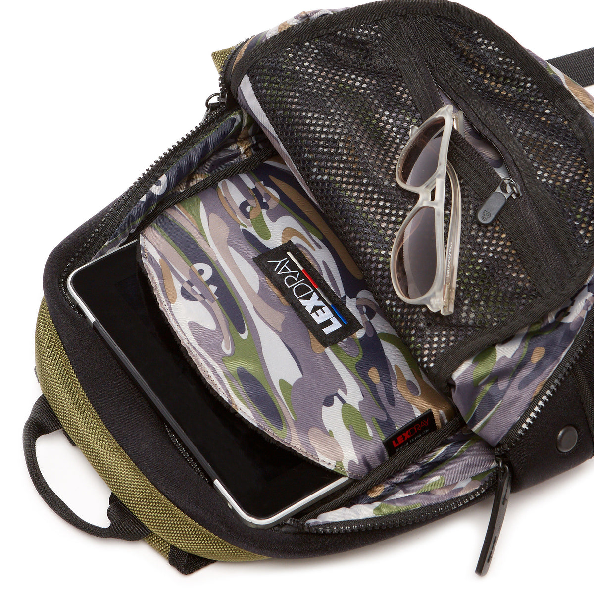 Lexdray: San Diego Pack - Olive (14106-ON) detail