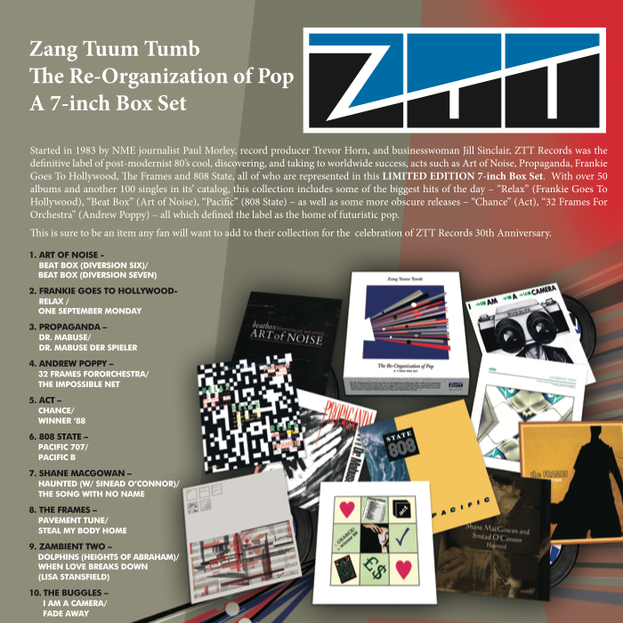"ZTT Records: Zang Tuum Tumb - The Re-Organization of Pop 7"" Vinyl Boxset (Record Store Day 2014)"