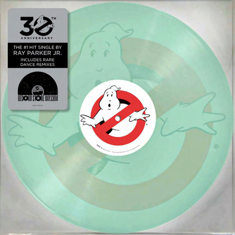 "Ray Parker Jr.: Ghostbusters Vinyl 10"" (Record Store Day 2014)"