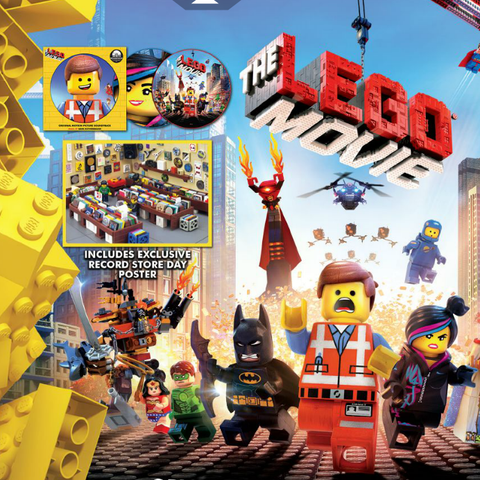 Mark Mothersbaugh: The Lego Movie: Original Motion Picture Soundtrack (Pic Disc) Vinyl 2LP (Record Store Day) - Strict Limit 1 Per Customer
