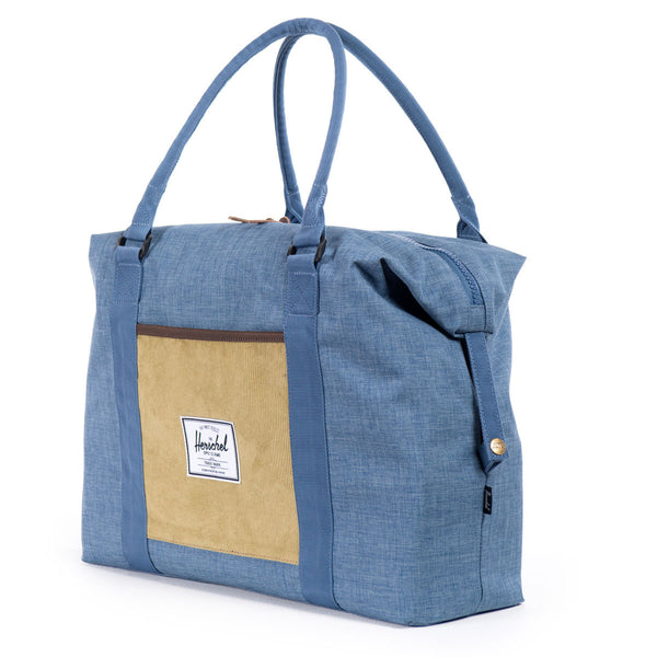 Herschel Supply Co.: Strand Duffle Bag - Navy / Straw Crosshatch