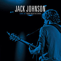 Jack Johnson: Live At Third Man Records 6/15/13 LP (Record Store Day)