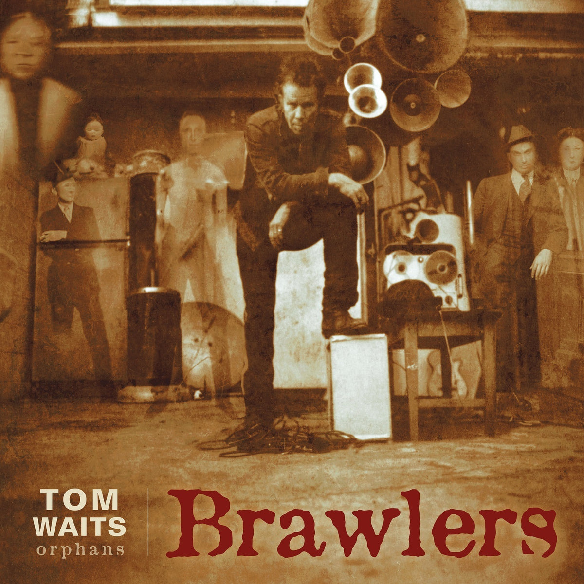 Tom Waits: Brawlers (180g, Red Colored Vinyl) Vinyl LP (Record Store Day)