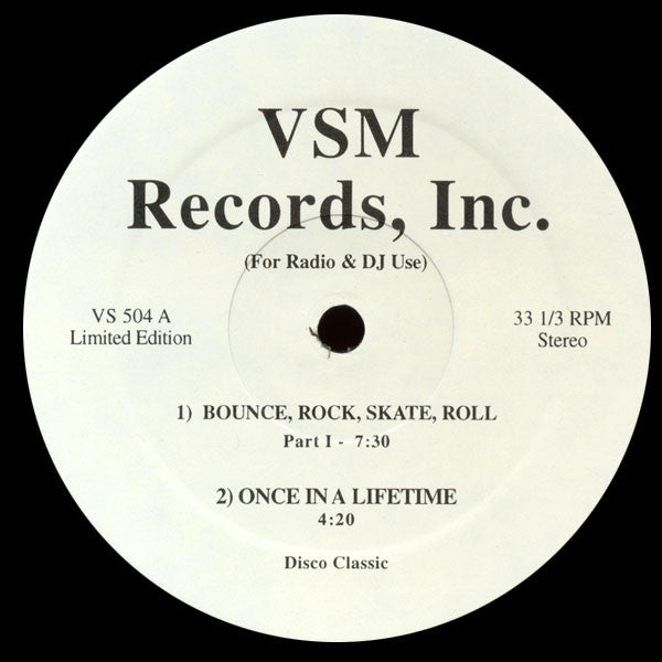Vaughan Mason: Bounce, Rock, Skate, Roll 12""