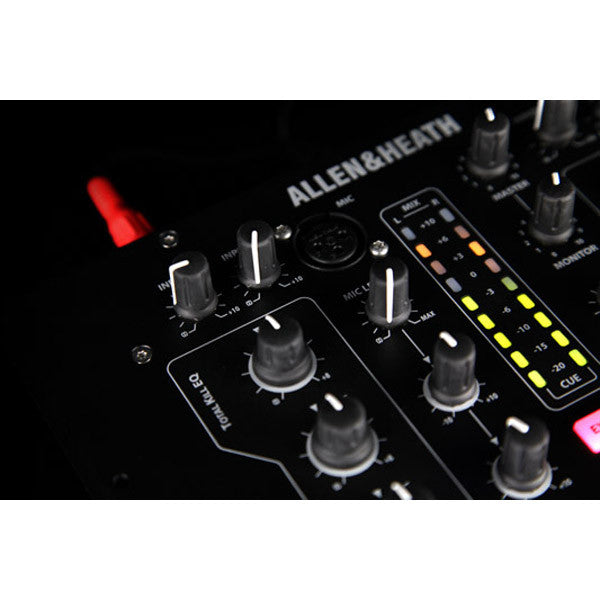 Allen & Heath: Xone:23 Mixer close up 3