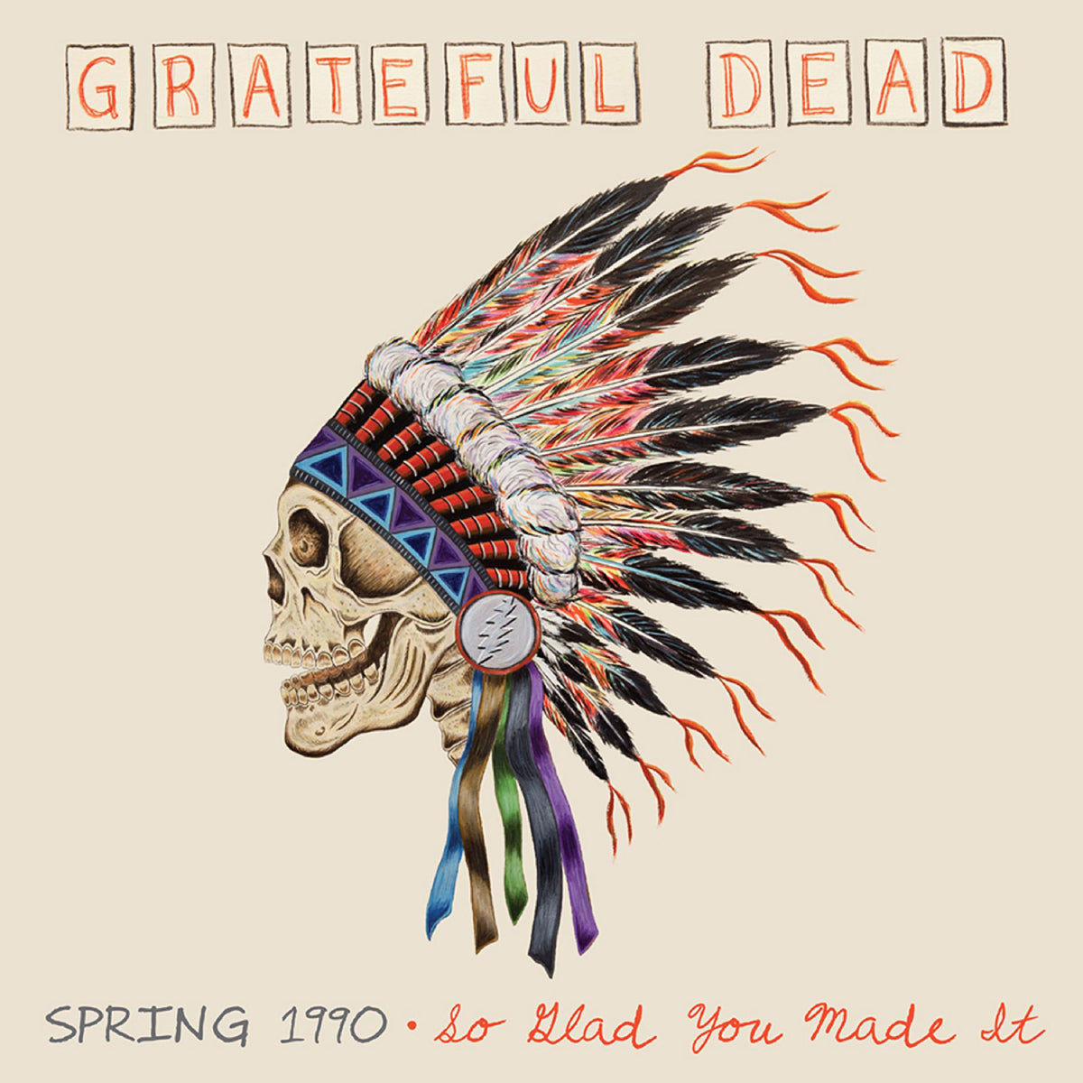 Grateful Dead: Spring 1990 - So Glad You Made It (180g) Vinyl 4LP Boxset