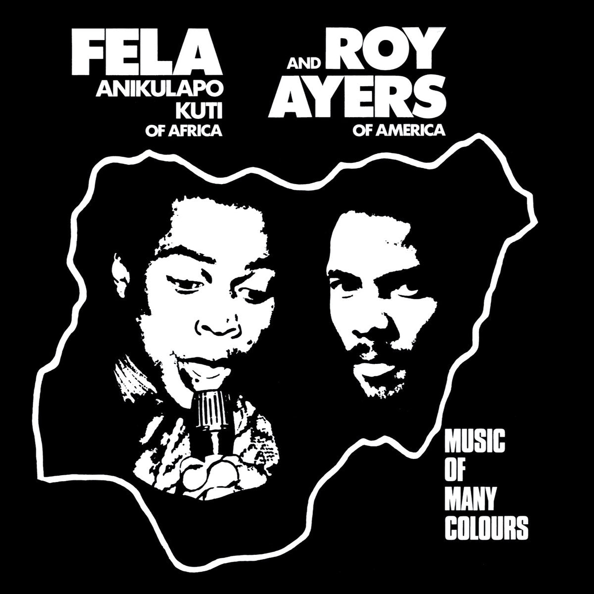 Fela Kuti & Roy Ayers: Music Of Many Colours (Colored Vinyl) Vinyl LP (Record Store Day)