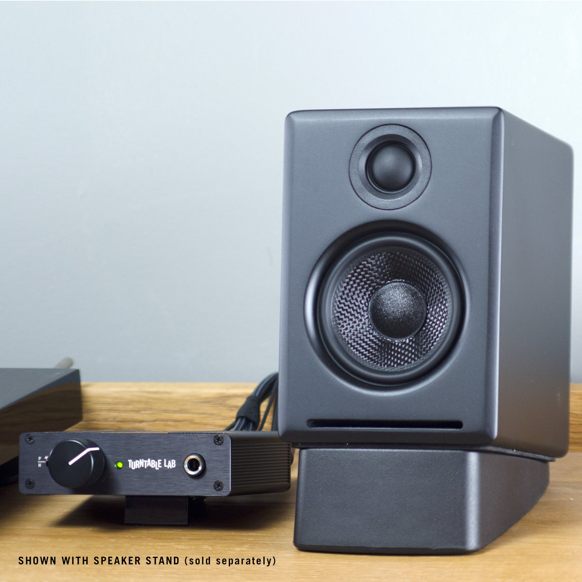 Audioengine: A2+ Powered Desktop Speakers w/Bluetooth - Black (A2+BT-BLK) ttl