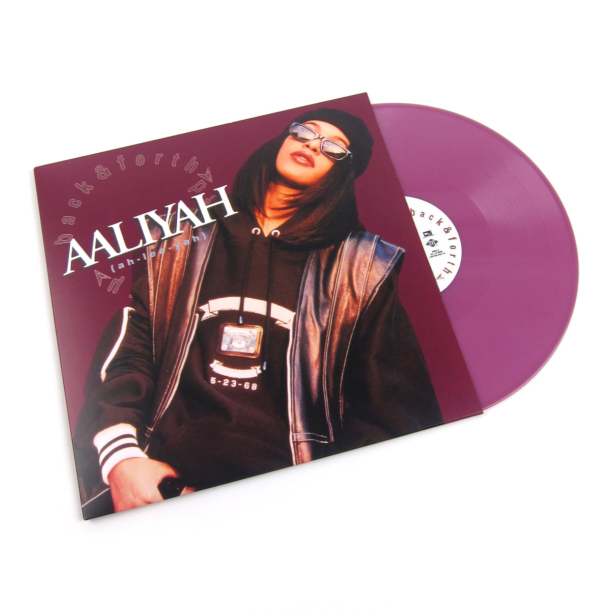 "Aaliyah: Back & Forth (Colored Vinyl) Vinyl 12"" (Record Store Day)"