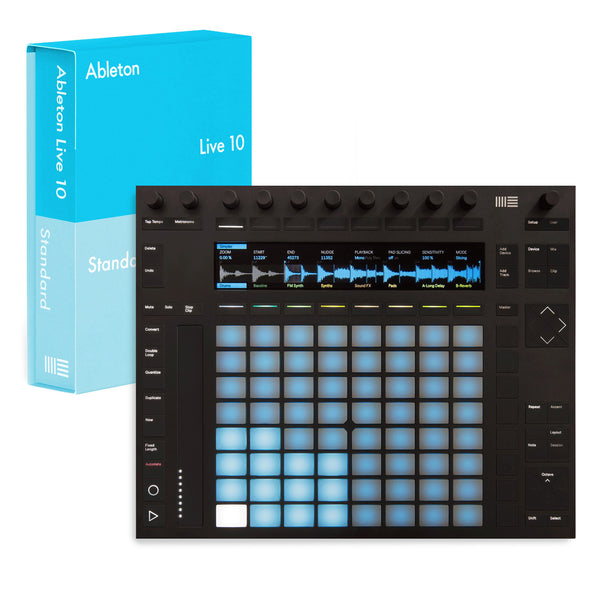Ableton: Push 2 + Live 10 Standard Bundle
