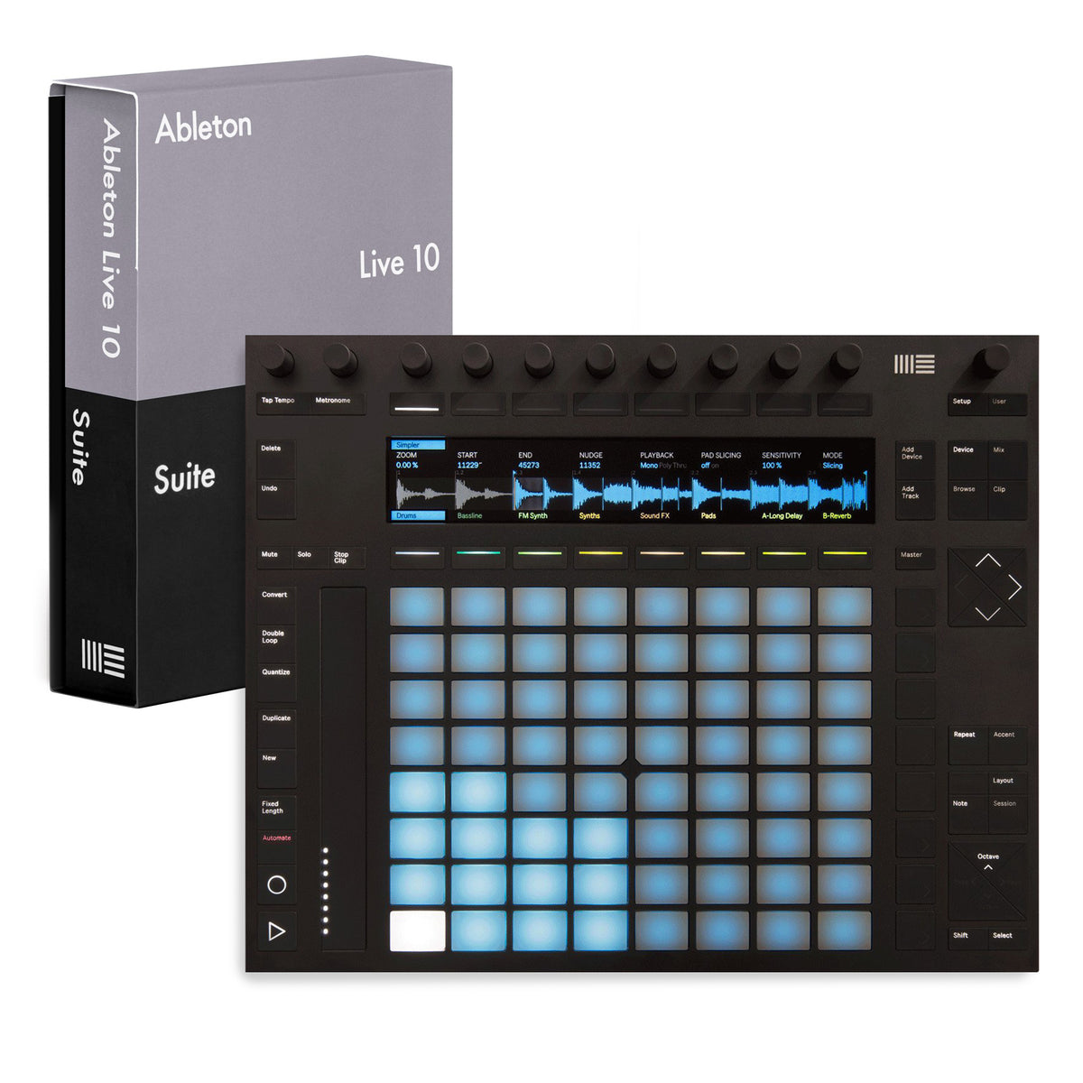 Ableton: Push 2 + Live 10 Suite Bundle