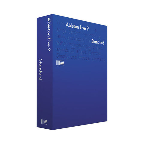 Ableton: Live 9 Standard - Educational Version