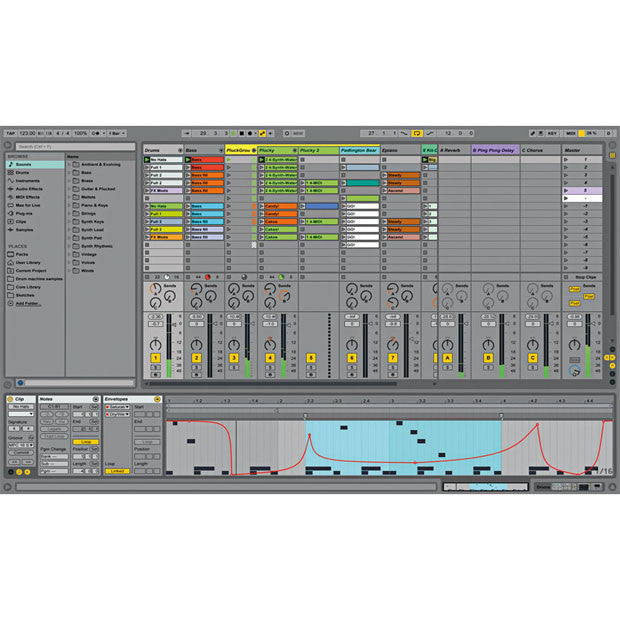 Ableton: Ableton Live 9 Suite session
