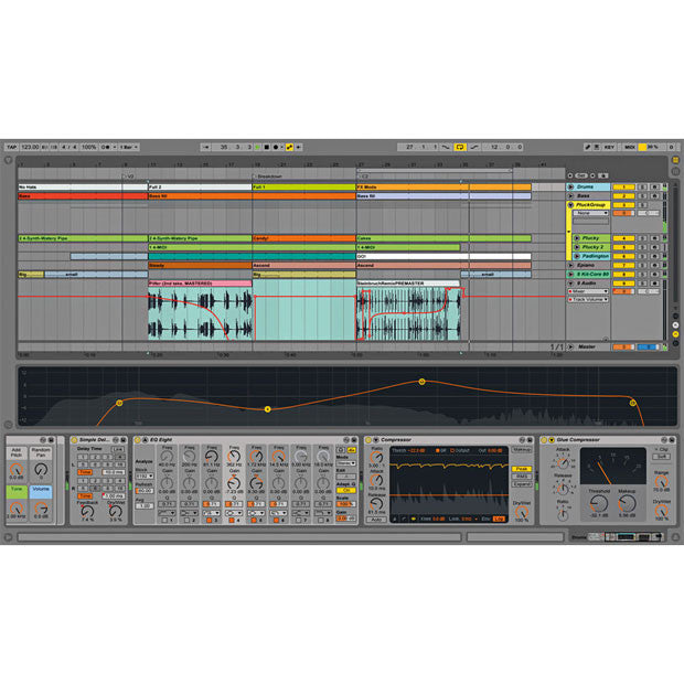 Ableton: Ableton Live 9 Suite arrangement