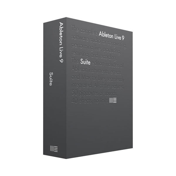 Ableton: Live 9 Suite - Educational Version