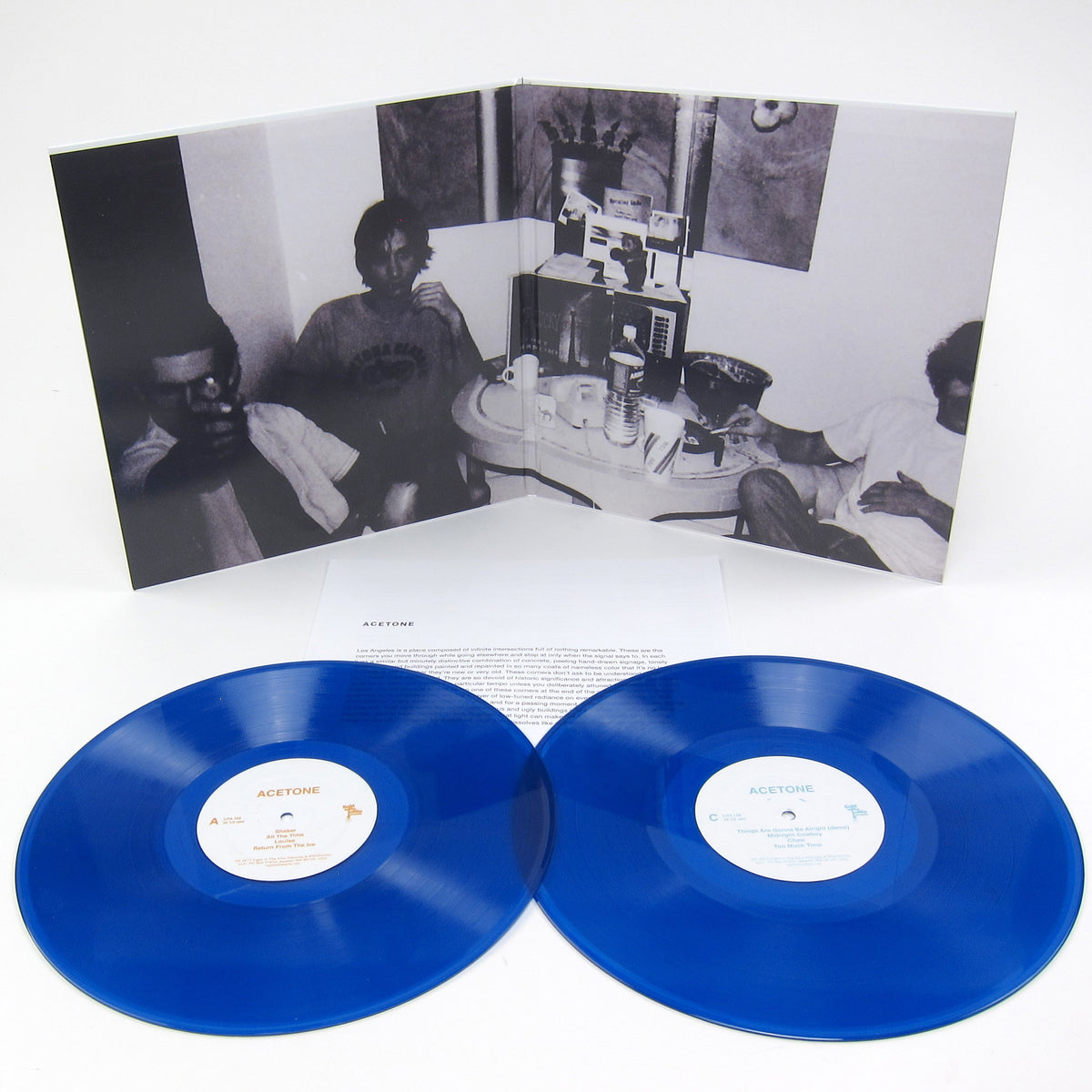 Acetone: 1992-2001 (Blue Colored Vinyl) Vinyl 2LP