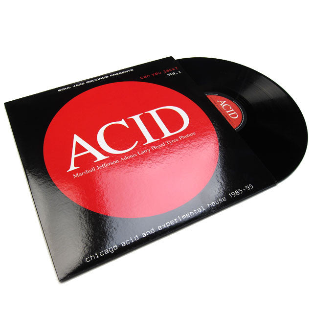 Soul Jazz Records: Acid Can You Jack Vol 1 (Free MP3) 2LP