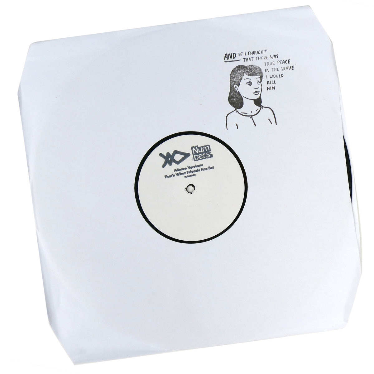 Adesse Versions: That's What Friends Are For Vinyl 12""