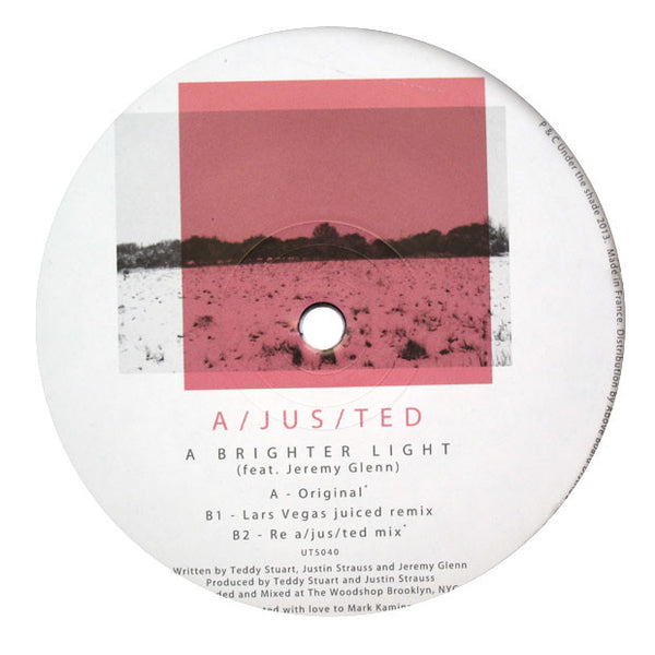 A/JUS/TED: A Brighter Light (A-Jus-Ted) 12""