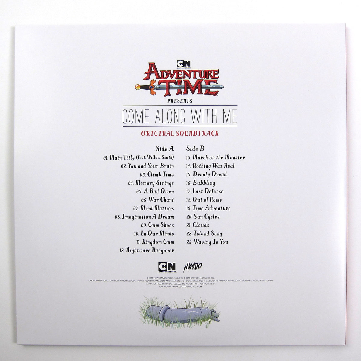 Adventure Time: Come Along With Me (180g) Vinyl LP