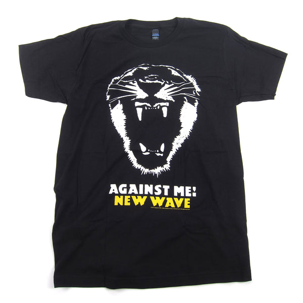 Against Me!: New Wave Shirt - Black