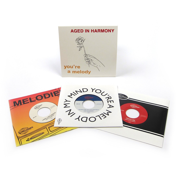 Aged In Harmony: You're A Melody (Floating Points) Vinyl 3x7""