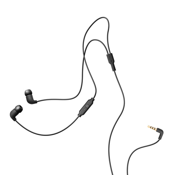 AIAIAI: Pipe Earphones w/ Mic - Black