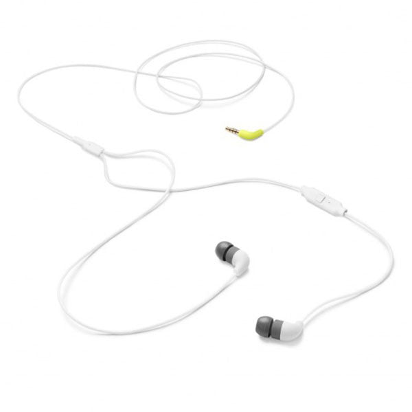 AIAIAI: Pipe Earphones w/ Mic - White