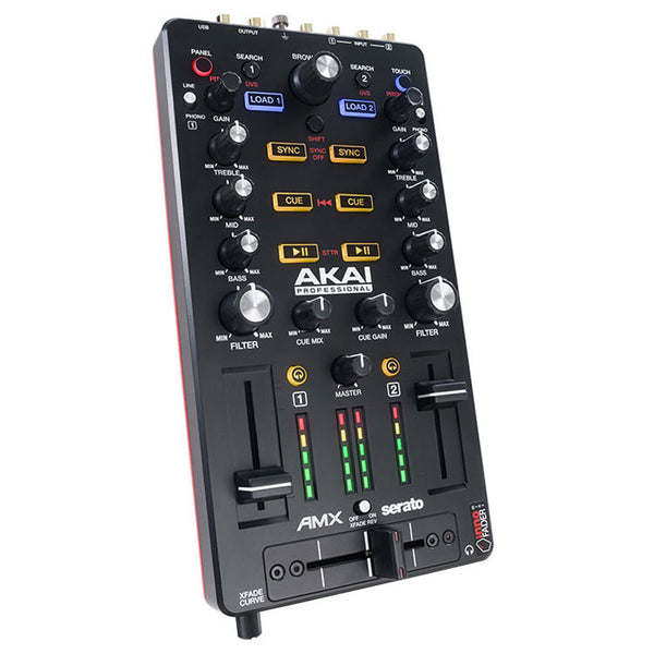 Akai: AMX - Mixing Surface +  Audio Interface for Serato DJ