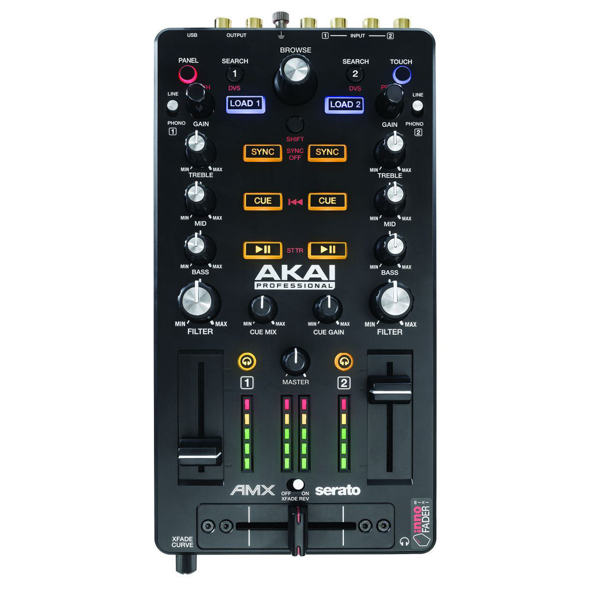 Akai: AMX - Mixing Surface +  Audio Interface for Serato DJ top