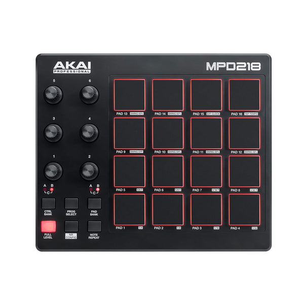 Akai: MPD218 Highly Playable Pad Controller