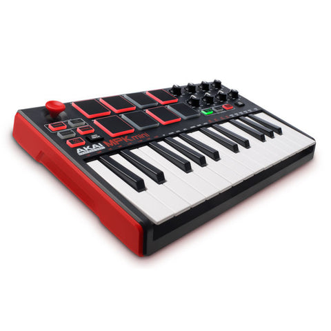 Akai: MPK Mini Compact Keyboard and Pad Controller