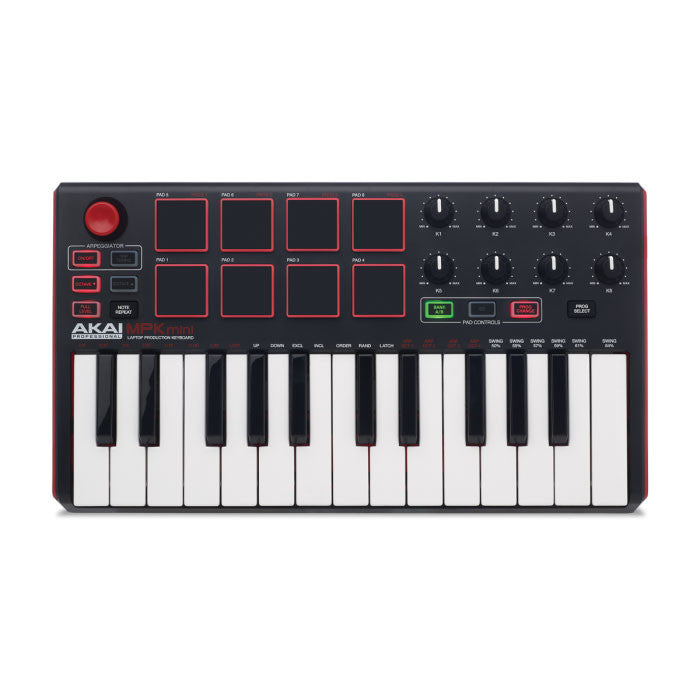Akai: MPK Mini Compact Keyboard and Pad Controller top