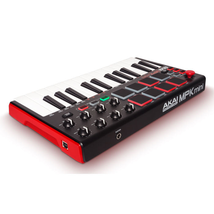 Akai: MPK Mini Compact Keyboard and Pad Controller back