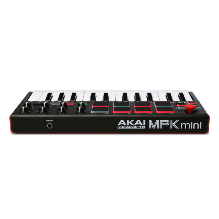Akai: MPK Mini Compact Keyboard and Pad Controller back 2