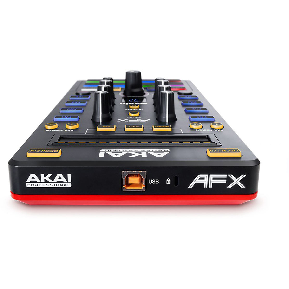 Akai: AFX USB DJ Effects Trigger Controller back