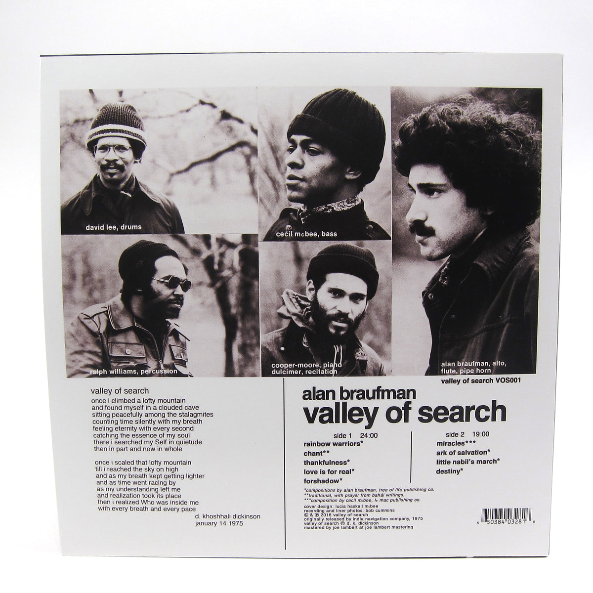 Alan Braufman: Valley Of Search Vinyl LP