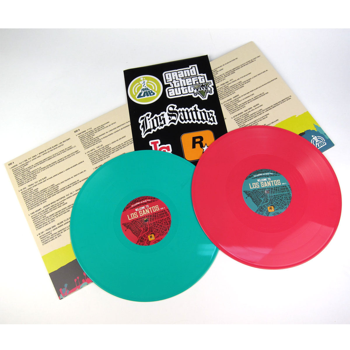 The Alchemist And Oh No: Welcome To Los Santos (Colored Vinyl) Vinyl 2LP